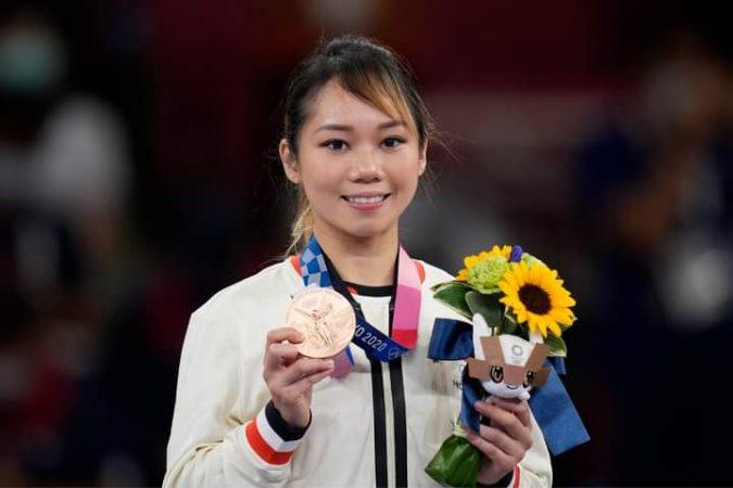 本會劉慕裳師姐取得2021東京奧運女子空手道形項目取得銅牌!